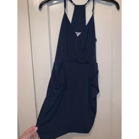 BCBGeneration Dresses & Skirts - BCBGeneration Navy Blue Cocktail Dress